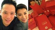 Hồ Hạnh Nhi gửi thiệp cưới cho tình cũ Huỳnh Tông Trạch