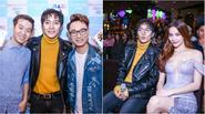 Hà Hồ đến mừng Châu Đăng Khoa ra mắt single