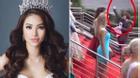 Sự thật clip Phạm Hương nhanh chân giành chỗ đẹp tại Hoa hậu Hoàn vũ