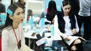 Các model khẩn trương trong hậu trường show Love của Đỗ Mạnh Cường