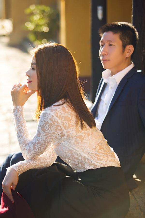 Hình ảnh ông xã của á hậu Diễm Trang chính thức được lộ diện