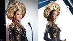 Phạm Hương lộng lẫy trình diễn quốc phục tại Miss Universe