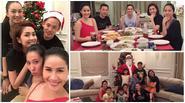 Facebook 24h: Vợ chồng Tăng Thanh Hà hân hoan mừng Noel sớm