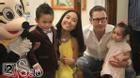 Con gái Đoan Trang thân thiết bên con trai nuôi của Thanh Thảo