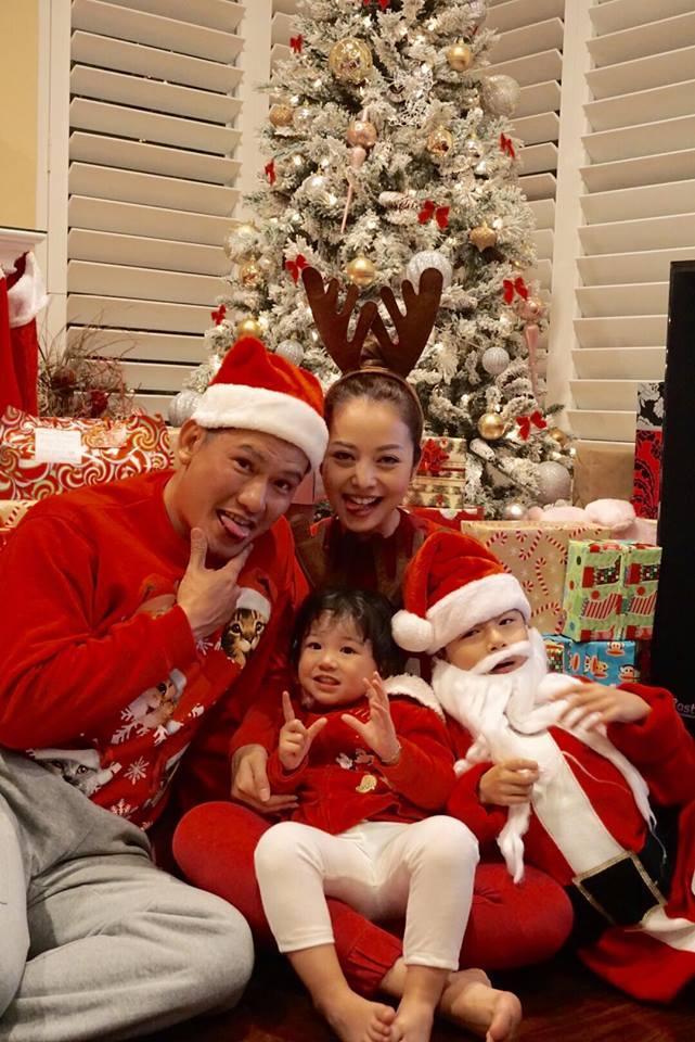 Jennifer Phạm 'tiết lộ' tiệc Giáng sinh tưng bừng ở Mỹ - Ảnh 2