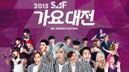 Gào thét khán cổ vì các bản mix của sao Kpop tại Gayo Daejun