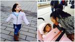 Facebook 24h: Đoan Trang khoe niềm vui khi con gái nhận quốc tịch Thuỵ Điển