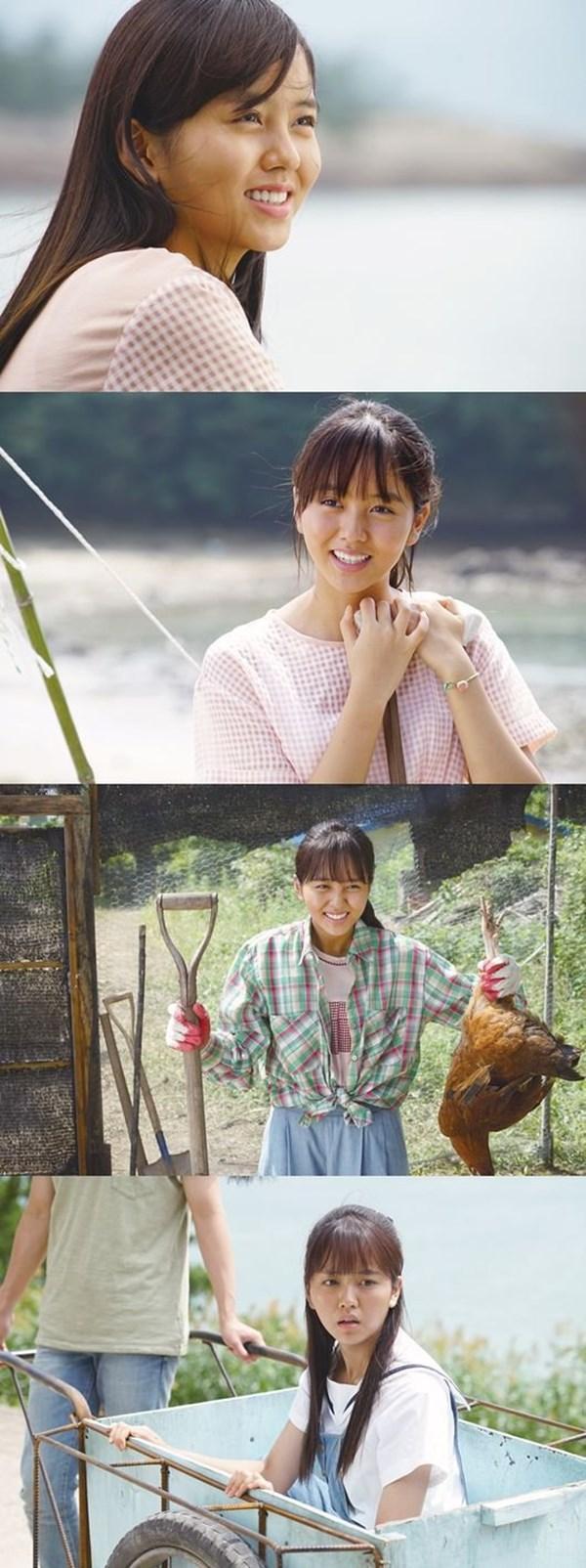 'Thiên thần' Kim So Hyun hóa thôn nữ đen nhẻm