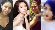 """8 gương mặt mộc xấu """"để đời"""" của Sao Việt"""