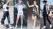Soi gu thời trang cá tính của 4 hot teen Việt