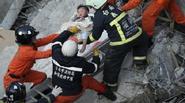 Đài Loan chạy đua cứu 132 người mắc kẹt trong động đất