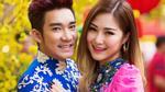 Quang Hà cùng Hương Tràm kết đôi diện áo dài xuân
