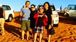 Facebook 24h: Gia đình Huyền My du hí Dubai dịp tết