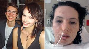 Cô gái xinh đẹp gặp tai nạn kinh hoàng khi chuẩn bị bữa ăn cho Valentine