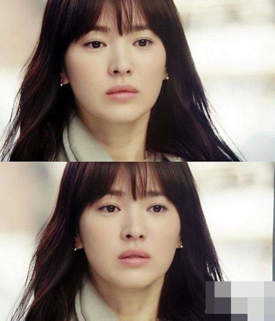'Biến hóa' xinh đẹp cùng tóc mái thưa như Song Hye Kyo