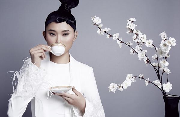 Công Trí chọn Kim Nhung vào vị trí vedette cho BST No.9 tại Tokyo Fashion Week ảnh 1