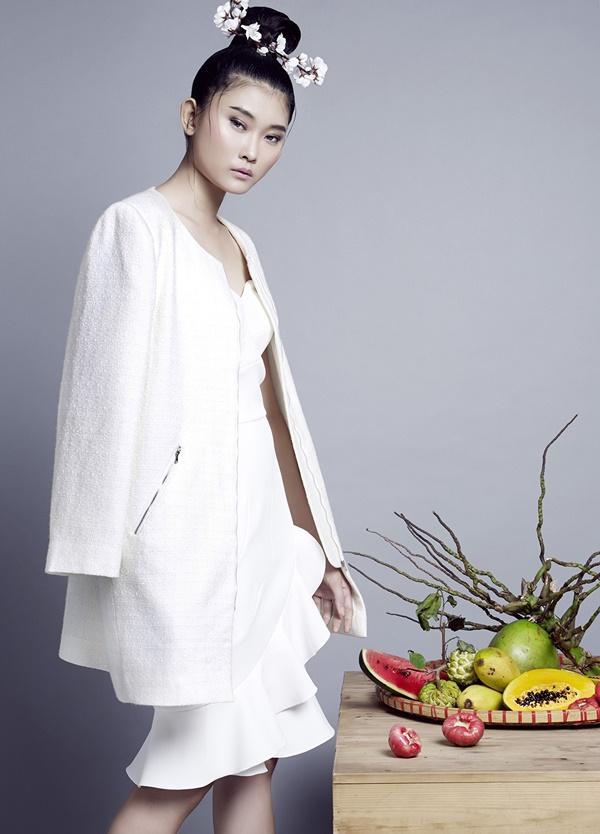 Công Trí chọn Kim Nhung vào vị trí vedette cho BST No.9 tại Tokyo Fashion Week ảnh 3