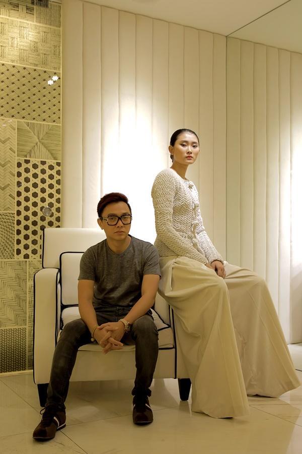 Công Trí chọn Kim Nhung vào vị trí vedette cho BST No.9 tại Tokyo Fashion Week ảnh 7