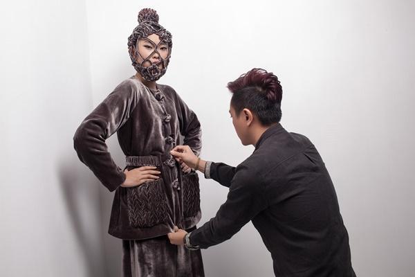 Công Trí chọn Kim Nhung vào vị trí vedette cho BST No.9 tại Tokyo Fashion Week ảnh 6