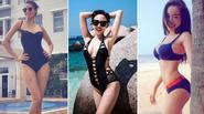 Mỹ nhân Việt đón đầu xu hướng bikini gợi cảm dù chưa vào hè