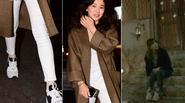 Song Hye Kyo diện giày sneaker từ phim trường ra ngoài phố