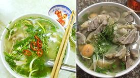 5 quán phở ăn một bát, tính tiền trăm ở Hà Nội