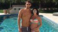 Michael Phelps hạnh phúc bên vợ hoa hậu đang mang bầu