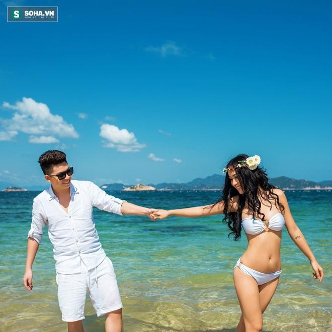 Bộ ảnh cưới quá sexy của nữ DJ hot nhất Hà thành - 2sao