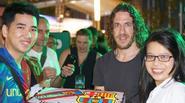 Fan Barca ở Việt Nam tổ chức mừng sinh nhật cho Puyol