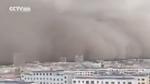 Clip shock: Bão cát khổng lồ xuất hiện tại Trung Quốc