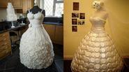 Những chiếc váy cưới đẹp kinh ngạc nhưng không thể mặc