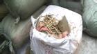 Sốc: Bắt giữ xe chở rễ cây từ Trung Quốc nghi dùng để làm thuốc Bắc