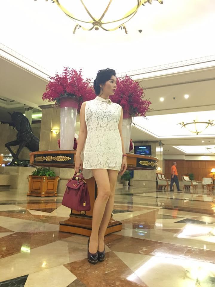 Facebook sao Việt:  Hoa hậu Thu Thảo 'xả hơi' sau khi bị 'bế quan luyện công' - Ảnh 10