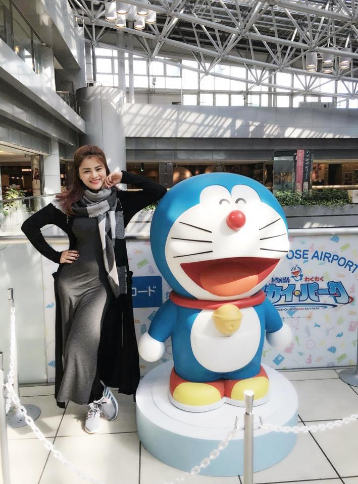 Facebook sao Việt:  Hoa hậu Thu Thảo 'xả hơi' sau khi bị 'bế quan luyện công' - Ảnh 26