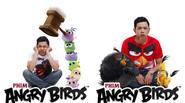 """Thái Hòa hào hứng lồng tiếng phim """"Angry Birds Movie"""""""