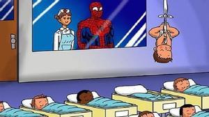 """""""Cười ngất"""" với hình ảnh """"cha nào con nấy"""" của siêu nhân siêu đáng yêu"""