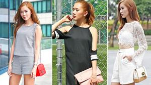 Fashionista đình đám châu Á gợi ý mặc đẹp ngày nắng