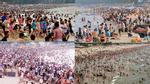 """Điểm danh những bãi biển người """"đông như kiến"""" ngày nghỉ lễ"""