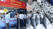 Người Huế phấn khởi mua cá biển sạch trong ngày đầu mở bán