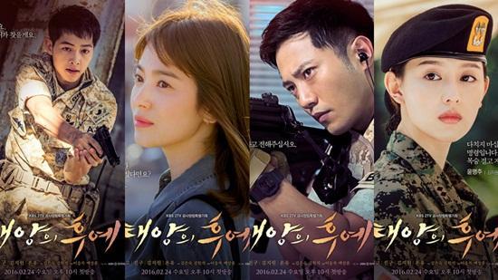 'Hậu duệ mặt trời' thống trị giải 'Quả cầu vàng Hàn Quốc'