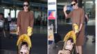 Con gái ngoan ngoãn tiễn Maya ra sân bay
