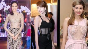 """Sao Việt: """"người lên hương - kẻ xuống sắc"""" với mốt khoe nội y"""