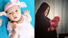 Hoa hậu thế giới Trương Tử Lâm khoe ảnh cận mặt đáng yêu của con gái
