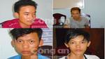 Chân dung bốn nghi phạm hãm hiếp tập thể một phụ nữ đang mang thai