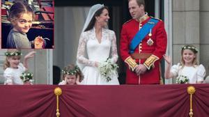 Cô bé bịt tai trong đám cưới Công nương Kate giờ đã xinh xắn thế này