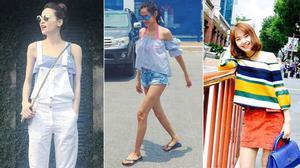 Hà Hồ, Minh Hằng trẻ trung và mát mẻ với thời trang ngày hè