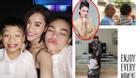Facebook 24h: Thu Minh dạy con có hiếu - Mẹ con Hà Hồ