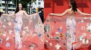 Bộ váy biển cả của Angela Phương Trinh gây sốt với truyền thông nước ngoài