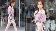 Mỹ nhân Việt gợi ý cách mặc duyên dáng với chân váy