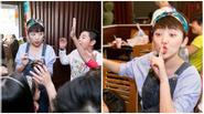 Tóc Tiên ngại ngùng khi học trò nhí hát chúc mừng sinh nhật giữa quán ăn